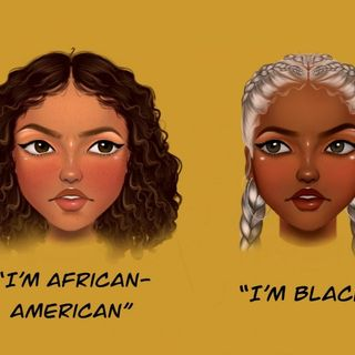 Why They Call You African American ?  (Pre-Rec)