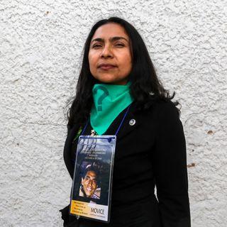 Movilización Ciudadana Internacional por la Defensa de la Paz y la vida en Colombia - Intervención de Adriana Quintero