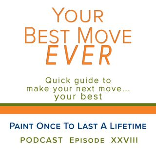 Ep 28 - Paint Once To Last A Lifetime