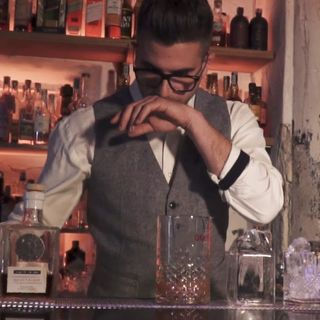 "Barman Italia: Cobra Cocktail Club   ""Tuscan Milk Punch"""