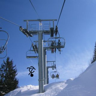 Children Dangling From Chairlifts