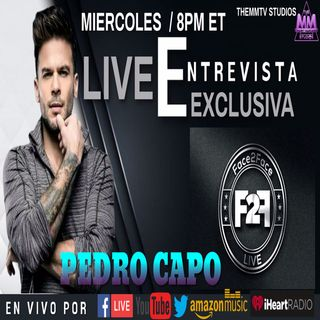 FACE2FACE LIVE ENTREVISTA EXCLUSIVA CON PEDRO CAPO  | MUSICA DE LA CANTANTE MARIANA LEV