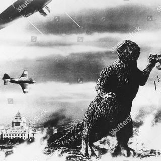 Season 4: Episode 194 - NATURE VS MAN:  Godzilla (1954) / Godzilla (2014)