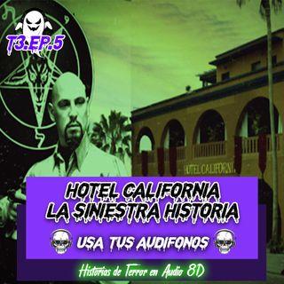 HOTEL CALIFORNIA: EL SINIESTRO ORIGEN DE LA CANCIÓN - TEORÍA DE TERROR EN 8D 💀🎧