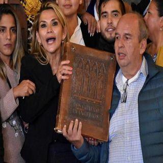 Jeanine Áñez, asumió la presidencia provisional de Bolivia
