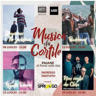 Musica Da Cortile dal 8 luglio Paiane