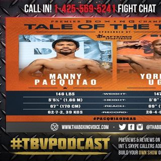 ☎️Manny Pacquiao vs Yordenis Ugas Live Fight Chat🔥Can PACMAN Win His Belt Back❓