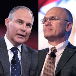 Trump announces EPA and labor secretary picks