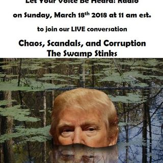 Chaos, Scandals and Corruption the Swamp Stinks
