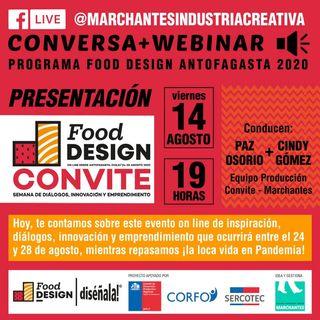 CONVITE: Inspiración, Innovación y Emprendimiento | Food Design DISÉÑALA #13