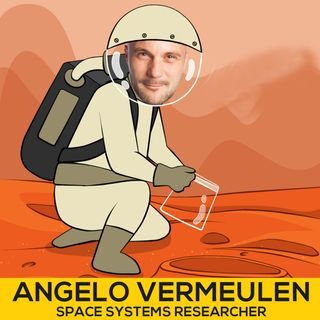 DB 028: Space System Researcher Angelo Vermeulen On Leadership And Our Future In Space