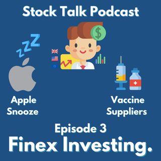Apple Underwhelms, Vaccine Supply Chain Benefits Stock Talk #3