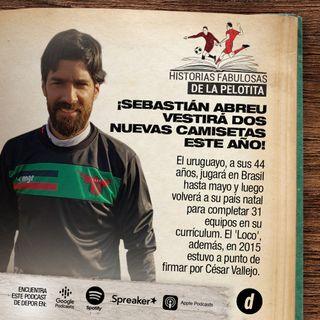 ¡Sebastián Abreu vestirá dos nuevas camisetas este año!