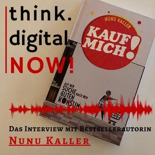 """#018 """"Kauf mich!"""" - Das Interview mit Bestsellerautorin Nunu Kaller"""