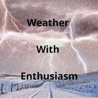 Weather With Enthusiam! Weather map explained!