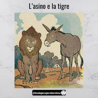 La storia del leone e dell'asino