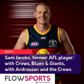 Full interview with Sam Jacobs (@samjacobs24), now back with the Crows but also playing & coaching at Ardrossan Footy Club