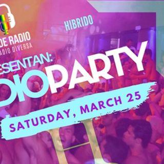Pride Radio Paty 25 de Marzo 2017