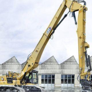 Ascolta la news: Il nuovo escavatore da demolizione Cat 340 UHD