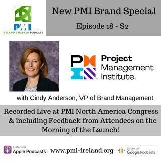 PMI New Brand Special with Cindy Anderson & Vox Pop - Episode 18 S2