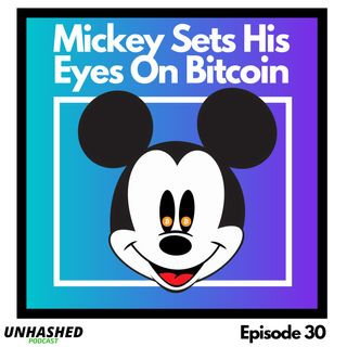 Mickey Sets His Eyes On Bitcoin