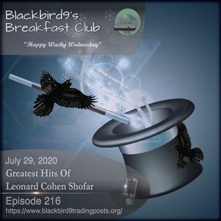 Greatest Hits Of Leonard Cohen Shofar - Blackbird9 Podcast