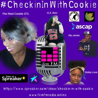 Checking In With Cookie - Season 1 - Episode 12 - Season Finale with Hazyie P Newton!