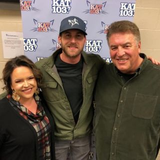 Steve & Gina Backstage with Riley Green 2-7-20