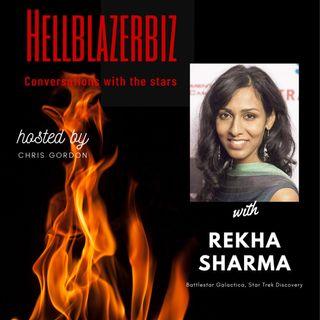 """Star Trek Discovery"" & ""Battlestar Galactica"" actress Rekha Sharma talks about her roles & more"