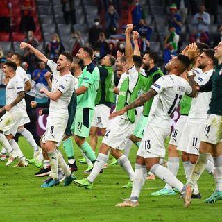 Euro 2020, l'ItalMancini vince ai rigori la corrida con la Spagna ed è la prima finalista