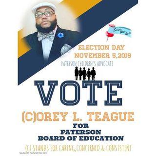 Meet NJ Activist Corey L. Teague Who Is Seeking Seat On Paterson School Board