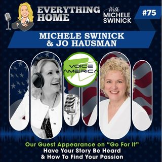 75: Your Story Must Be Heard Now-Michele Swinick on VoiceAmerica Live Talk Radio