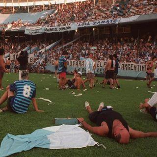 Racing 1999/2001 - O clube salvo por seu povo