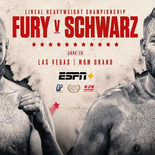 Inside Boxing Daily: Fury looks to slap Schwarz, Arum speaks of Crawford-Spence in the Fall, and we dream about boxing's Wrestlemania