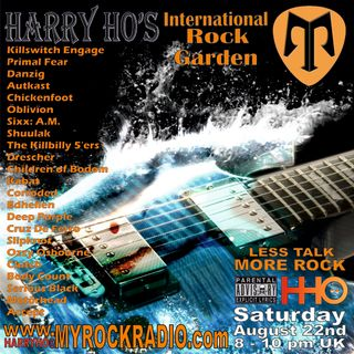 Harry Ho's intern. Rock Garden 22.08.2020