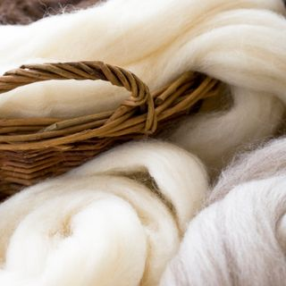 La lana.