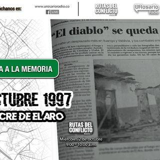 22 de Octubre de 1997: Masacre de el Aro
