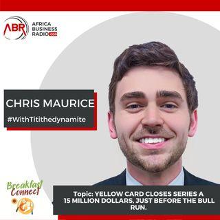 Yellow Card Series A  Closes15 Million Dollars - Chris Maurice
