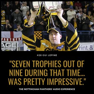 Seven trophies out of nine during that time... was pretty impressive | Gui Lepine