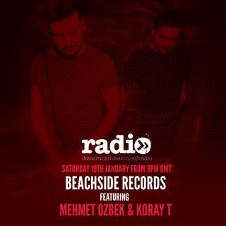 Beachside Records Radioshow Episode #008 by Mehmet Özbek & Koray T