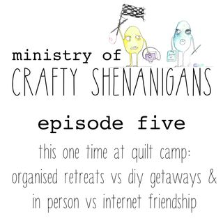 from online to offline: on retreat with our internet friends