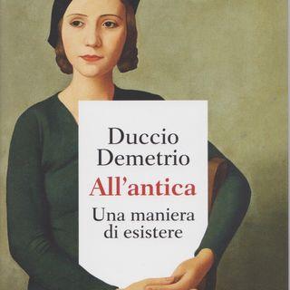 """Duccio Demetrio """"All'antica"""""""
