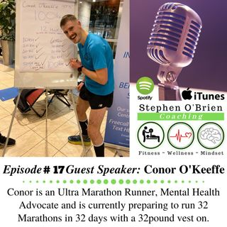 Conor O'Keeffe - Ultra Marathon Runner & Mental Health Advocate