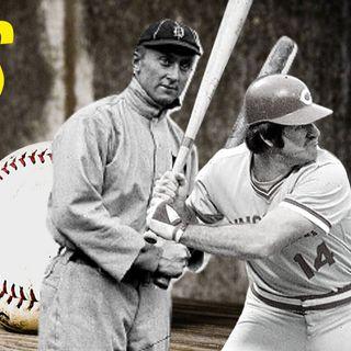 Ty Cobb o Pete Rose. ¿Cuál fue héroe y cual un villano?