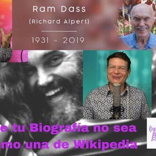 #238 Que tu biografía no sea como una de Wikipedia (Homenaje a Ram Dass) Podcast