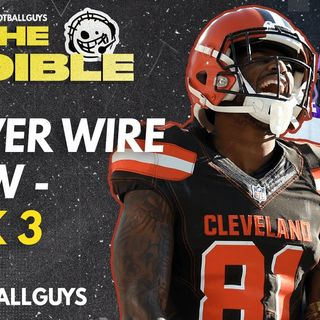 The Audible - Week 3 Waiver Wire Show - Fantasy Football 2021