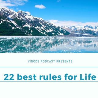 22 best rules for life