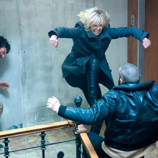 Podcast Review:  Atomic Blonde (Spoilers!)