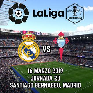 Real Madrid vs RC Celta en VIVO