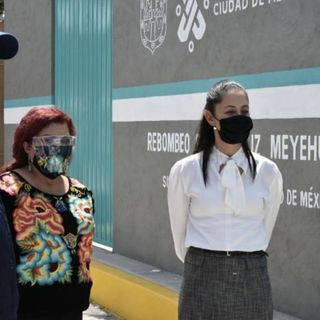 Claudia Sheinbaum, inaugura una planta de rebombeo en Iztapalapa